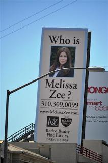 Melissa Zee Billboard Sunset Strip
