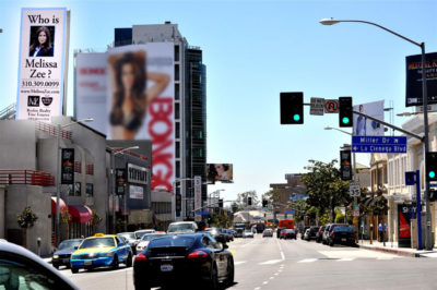 Melissa Zee: Billboard on Sunset